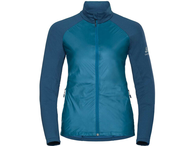 Odlo Velocity Element Light Jacket Damen turkish tile-poseidon